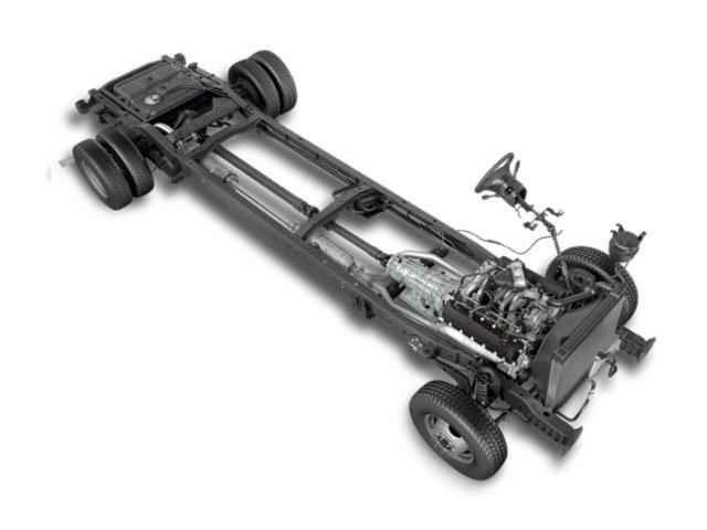 Ford E-Series Stripped Chassis